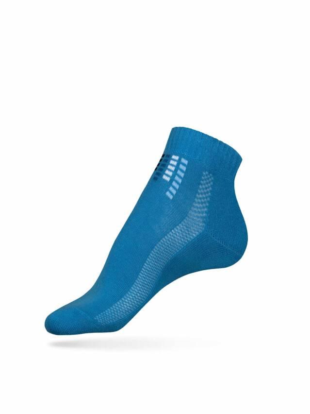Носки хлопковые женские ACTIVE (короткие, махр.стопа) 7С-41СП, р. 36-37, голубой, рис. 017 - 1