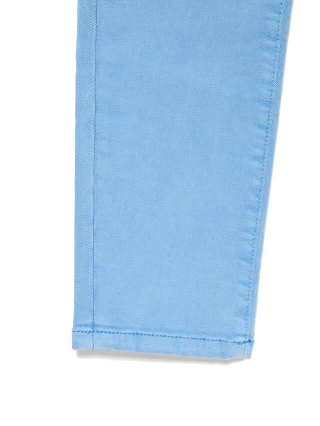 Джинсы skinny с высокой посадкой CON-237, р.170-102, washed lavander blue - 9
