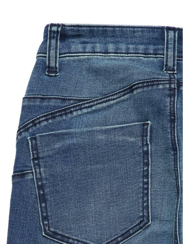 Джинсы skinny с высокой посадкой CON-144, р.170-102, dusty blue - 7