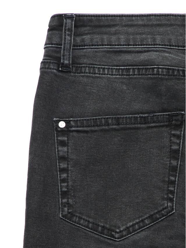Джинсы skinny со средней посадкой CON-150, р.170-102, washed black - 7
