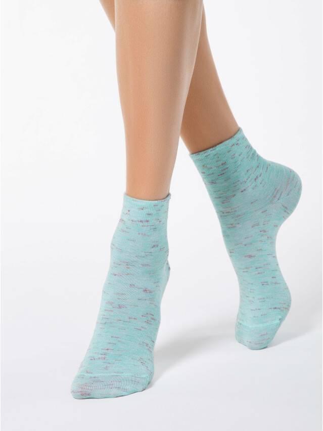 Носки вискозные женские COMFORT (меланж) 14С-115СП, р. 36-37, бледно-бирюзовый, рис. 000 - 1