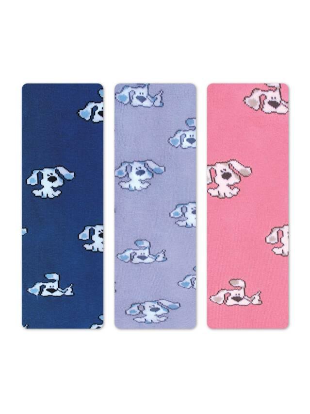 Колготки хлопковые детские SOF-TIKI (махровые внутри) 7С-38СП, p. 62-74, светло-розовый, рис. 193 - 1