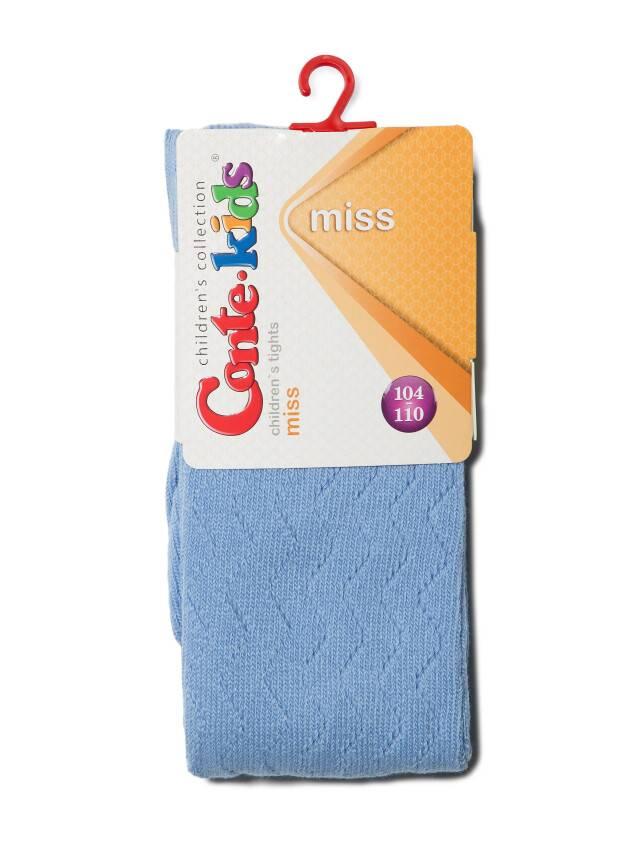 Колготки хлопковые детские MISS (ажурные) 7С-80СП, p. 92-98, голубой, рис. 268 - 2