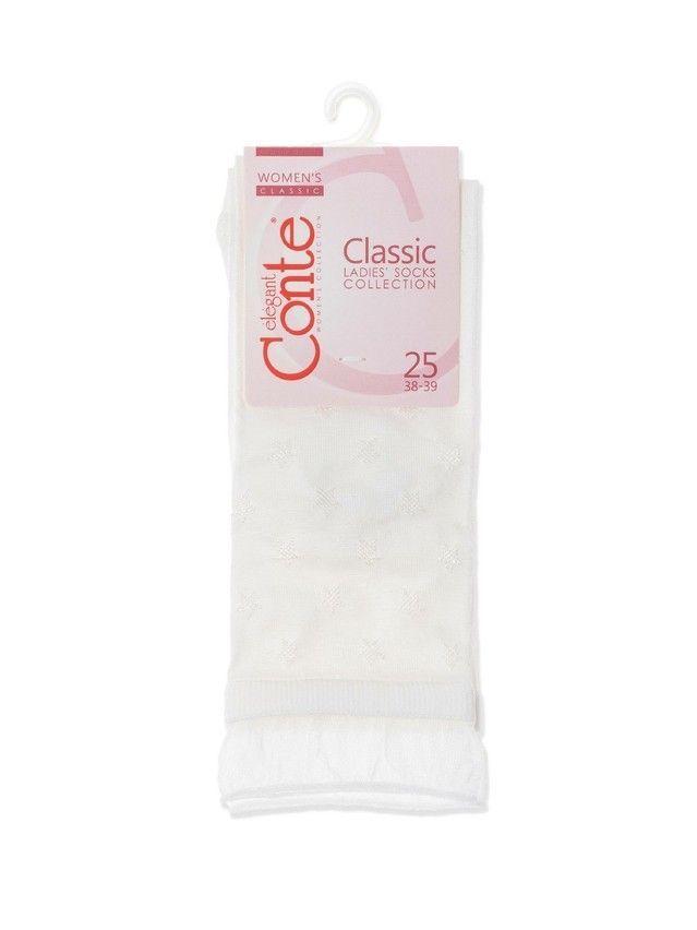 Носки женские вискозные CE CLASSIC 19С-189СП, р.36-37, 491 белый - 3