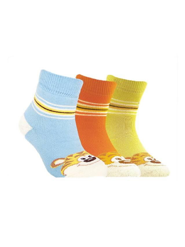 Носки хлопковые детские SOF-TIKI (махровые) 7С-46СП, p. 12, голубой, рис. 094 - 1
