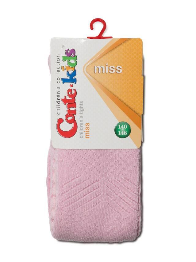 Колготки хлопковые детские MISS (ажурные) 7С-80СП, p. 140-146, светло-розовый, рис. 274 - 2