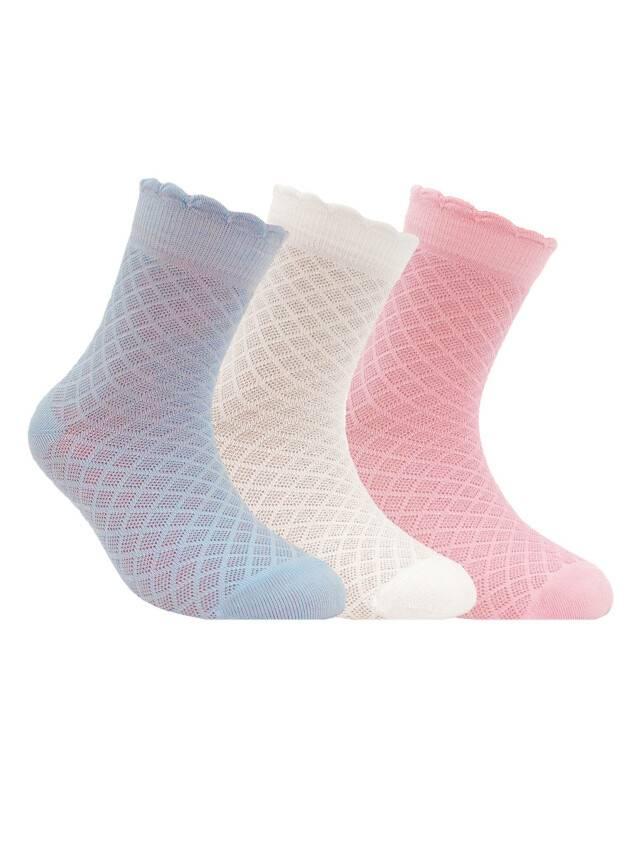 Носки хлопковые детские BRAVO (жаккардовые) 14С-13СП, p. 20, светло-розовый, рис. 187 - 1