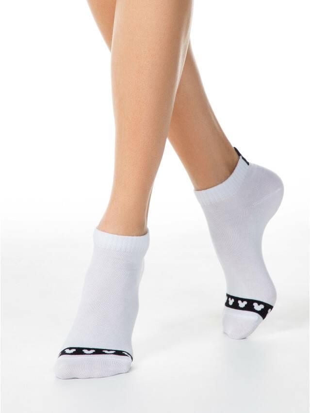 Носки женские хлопковые ©Disney 20С-1СПМ, р.36-37, 209 белый - 2