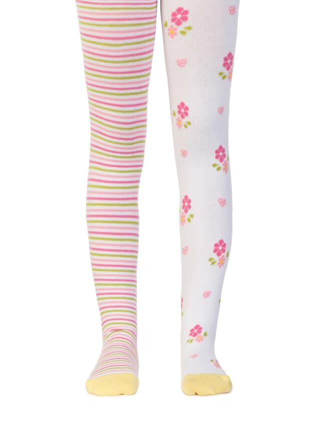 Колготки хлопковые детские TIP-TOP (веселые ножки) 14С-79СП, p. 62-74, белый, рис. 357 - 1