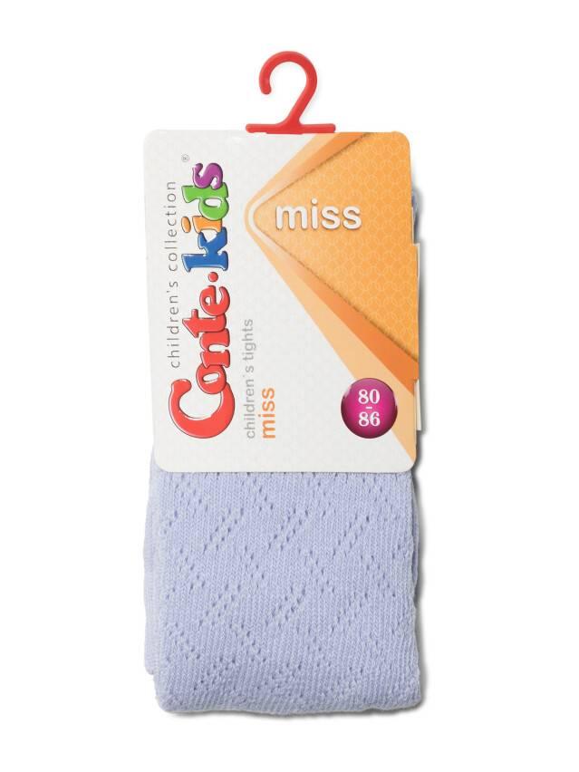 Колготки хлопковые детские MISS (ажурные) 7С-80СП, p. 62-74, бледно-фиолетовый, рис. 265 - 2