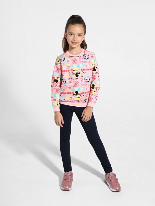Джемпер для девочек ©Disney DD 968, р.98,104-52, pink fun - 2