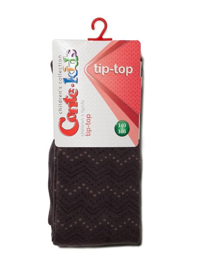 Колготки хлопковые детские TIP-TOP 5С-07СП, p. 150-152, шоколадный, рис. 351 - 2