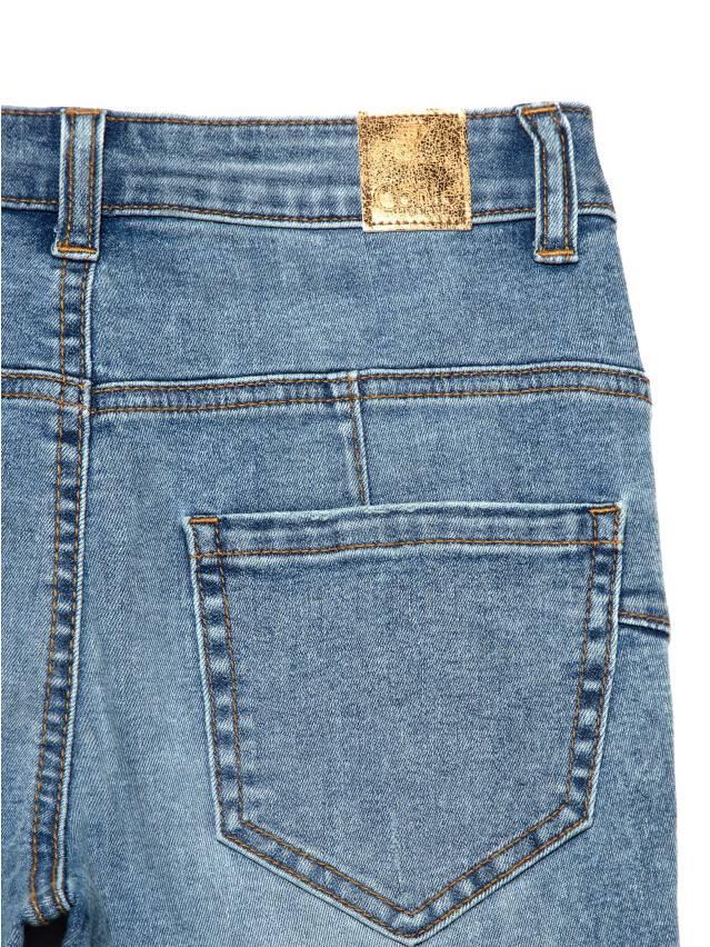 Джинсы skinny с высокой посадкой CON-240, р.170-102, acid washed mid blue - 7