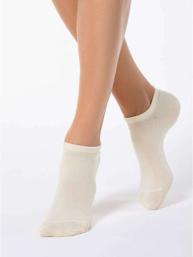 Носки вискозные женские ACTIVE (короткие, tencel) 15С-77СП, р. 36-37, кремовый, рис. 079 - 1