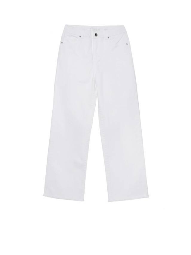 Джинсовые брюки с высокой посадкой CON-243, р.170-102, white - 5