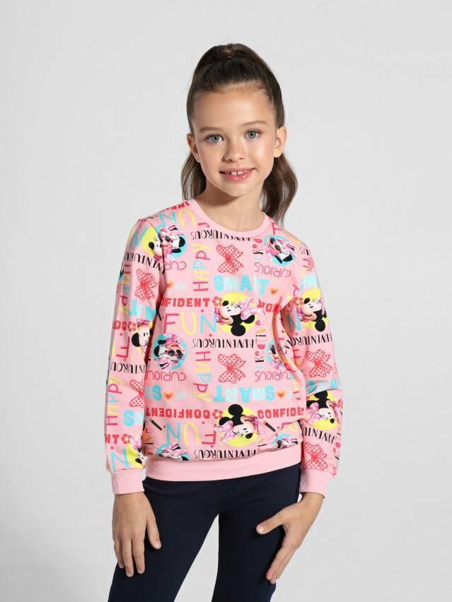 Джемпер для девочек ©Disney DD 968, р.98,104-52, pink fun - 1