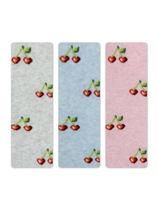 Колготки хлопковые детские TIP-TOP 4С-03СП, p. 104-110, светло-серый, рис. 359 - 2