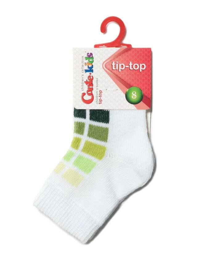 Носки хлопковые детские TIP-TOP 5С-11СП, p. 10, белый-салатовый, рис. 217 - 2