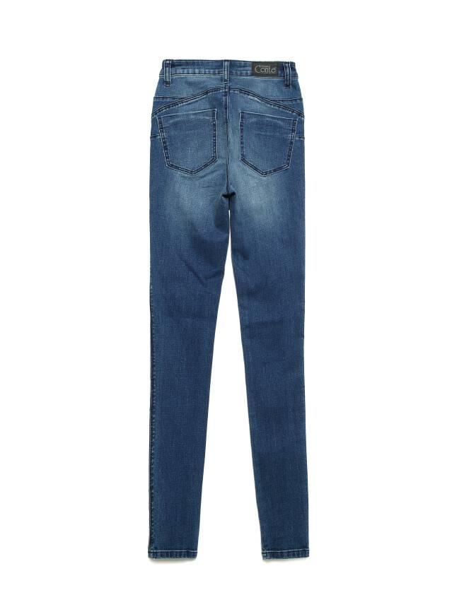 Джинсы skinny с высокой посадкой CON-144, р.170-102, dusty blue - 4