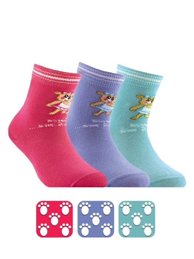 Носки хлопковые детские TIP-TOP (антискользящие) 7С-54СП, p. 12, розовый, рис. 101 - 1
