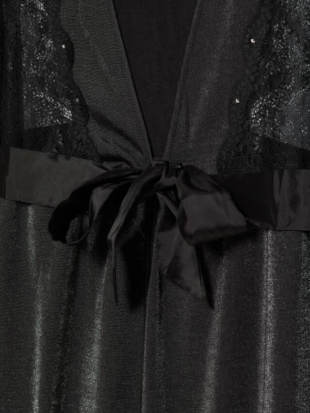 Халат женский Swarovski® LHW 1086, р.170-84-90, royal black - 6