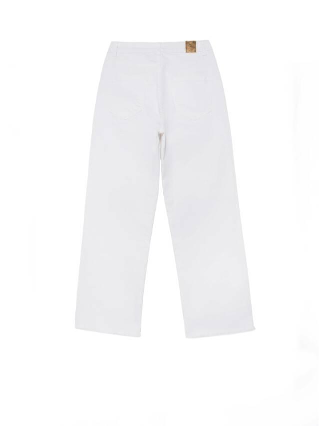 Джинсовые брюки с высокой посадкой CON-243, р.170-102, white - 6