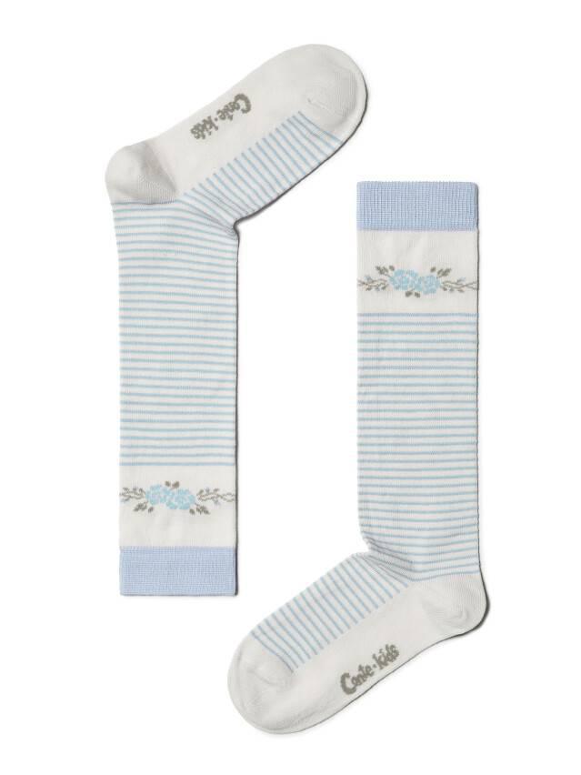 Гольфы хлопковые детские TIP-TOP 7С-21СП, p. 18, молочный-бледно-фиолетовый, рис. 038 - 1