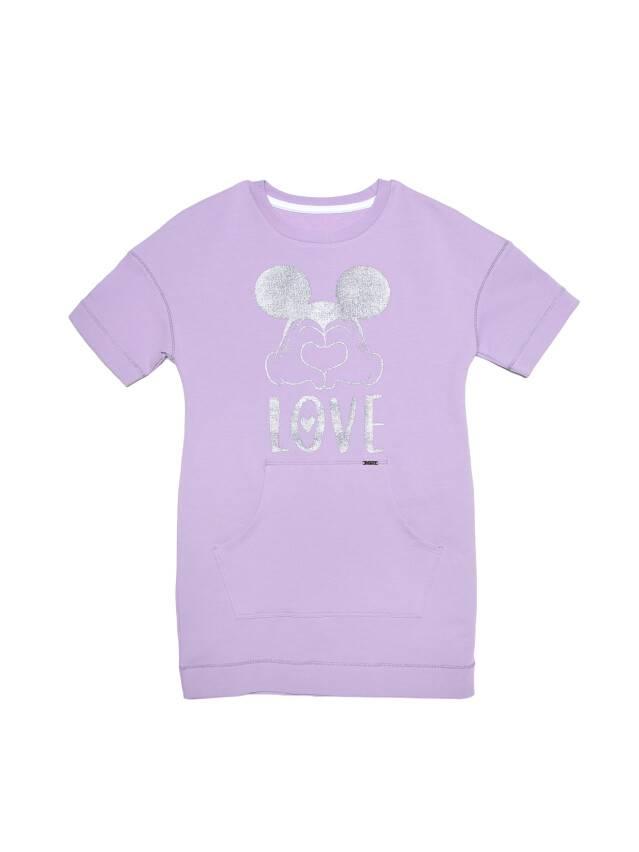 Туника для девочек ©Disney DTH 956, р.128,134-68, blooming lilac - 4