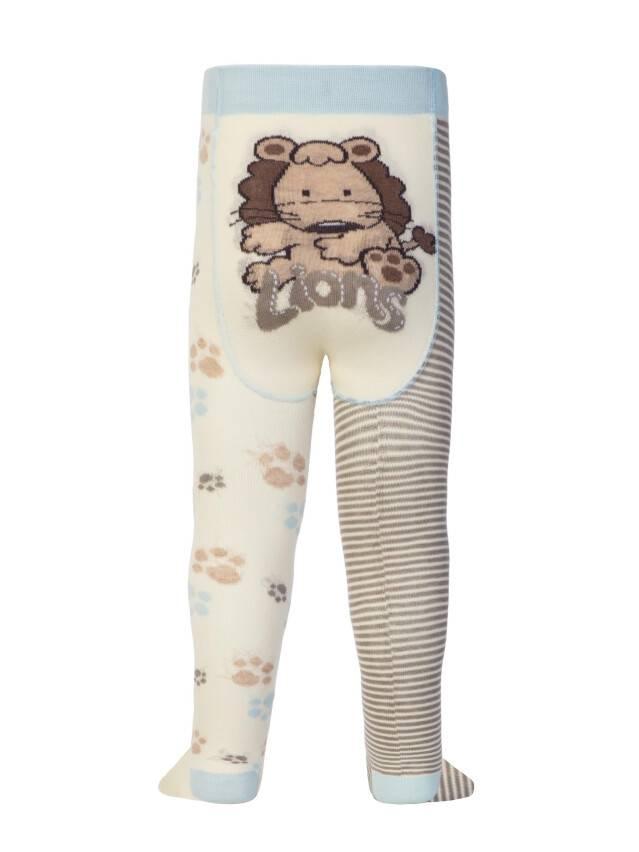 Колготки хлопковые детские TIP-TOP (веселые ножки) 14С-79СП, p. 62-74, капучино-серый, рис. 356 - 1
