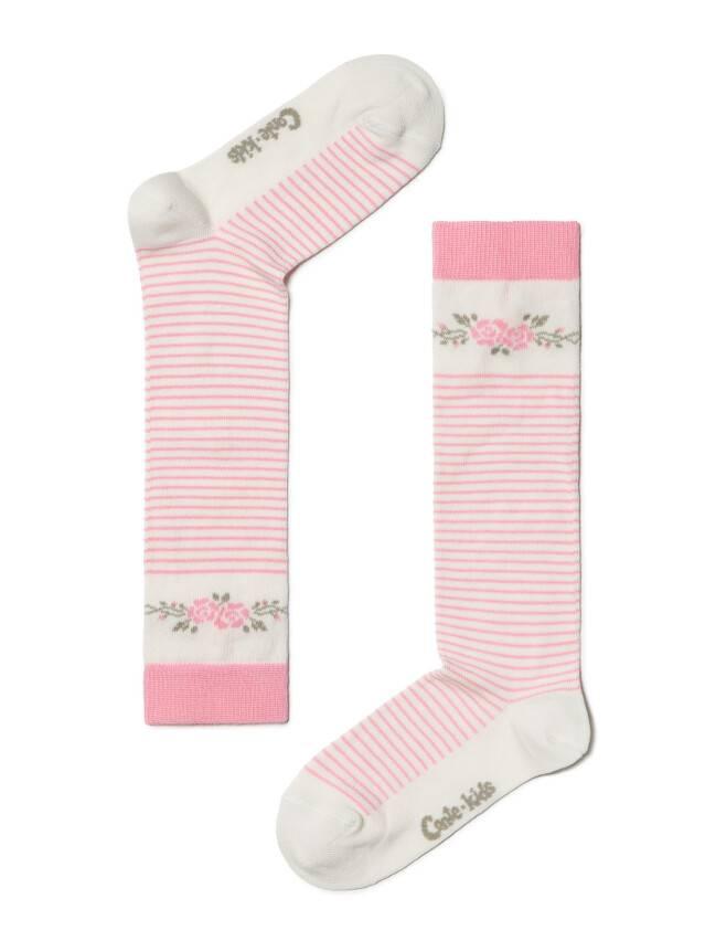 Гольфы хлопковые детские TIP-TOP 7С-21СП, p. 18, молочный-розовый, рис. 038 - 1