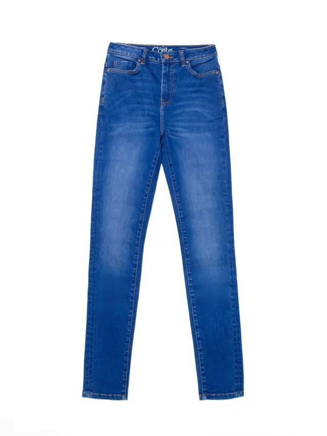 Джинсы skinny с высокой посадкой CON-217, р.170-102, washed royal blue - 4