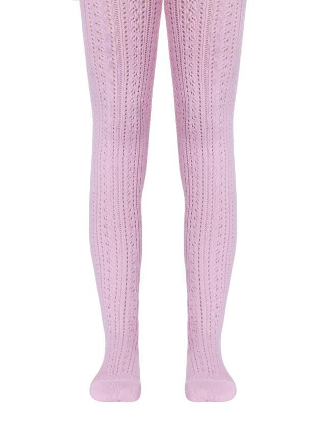 Колготки хлопковые детские MISS (ажурные) 7С-80СП, p. 104-110, светло-розовый, рис. 270 - 1