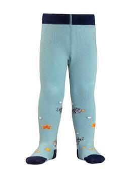 колготки хлопковые детские TIP-TOP 4С-01СП, размер 80-86, цвет голубой