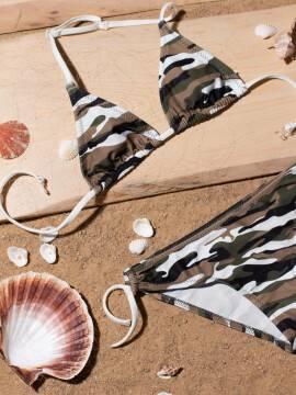 купальник детский купальник для девочек JESSICA , размер 146,152-76, цвет серый-лимонный