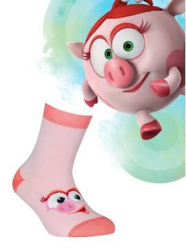 носки хлопковые детские смешарики