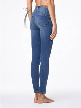моделирующие джинсы PUSH UP с высокой посадкой CON-41 , размер 170-102, цвет синий