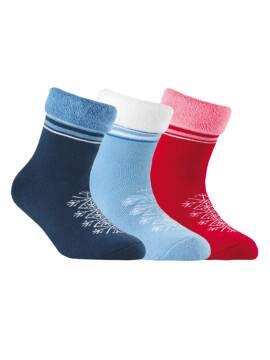 махровые носки SOF-TIKI с отворотом 6С-19СП, размер 20, цвет темно-синий