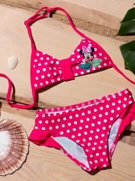 купальник детский яркий купальник MINNIE TROPICAL с минни маус ©disney , размер 110,116-56, цвет pink