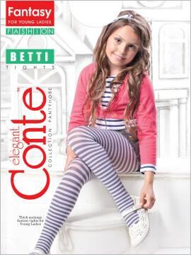 колготки полиамидные детские BETTI 12С-39СП, размер 140-146, цвет fumo