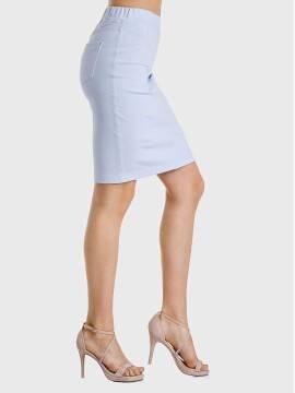 юбка женская FLAVIA 17С-388ТСП, размер 170-102, цвет пудра