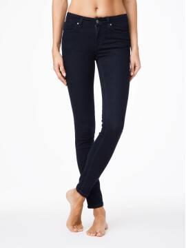 джинсы женские моделирующие моделирующие джинсы skinny со средней посадкой 623-100R 623-100R, размер 170-94, цвет темно-синий