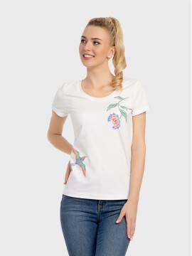 Джемпер женский Джемпер LD 736 17С-377ТСП, размер 170-100, цвет белый