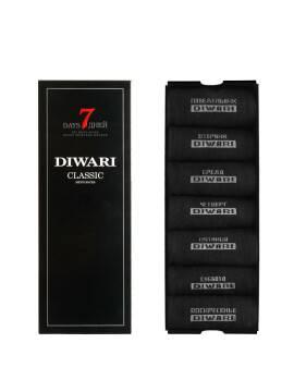 носки мужские CLASSIC 7 дней (7 пар) 5С-08СП, размер 29, цвет черный