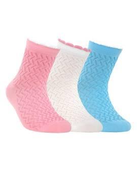 Носки хлопковые детские TIP-TOP (пикот) 7С-28СП, размер 20, цвет белый