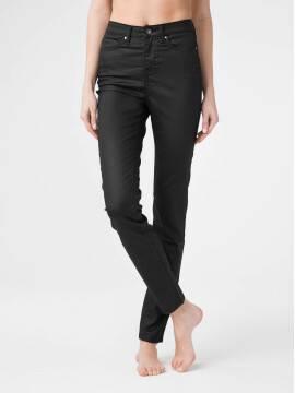 брюки джинсовые джинсы skinny premium coated c высокой посадкой CON-172B CON-172B, размер 164-102, цвет deep black