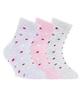 Носки хлопковые детские TIP-TOP 5С-11СП, размер 20, цвет светло-розовый