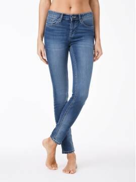 джинсы женские классические классические джинсы skinny со средней посадкой 756/4909М 756/4909М, размер 170-102, цвет синий