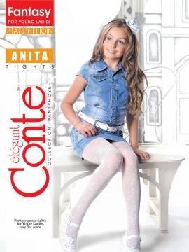колготки полиамидные детские ANITA 13С-40СП, размер 152-158, цвет nero
