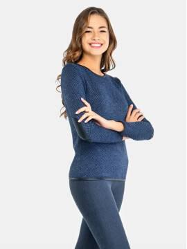 Джемпер женский Джемпер LD 694 17С-333ТСП, размер 158,164-84, цвет синий