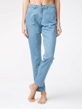 брюки джинсовые легкие джинсовые eco-friendly брюки CON-140 CON-140, размер 164-102, цвет bleach blue